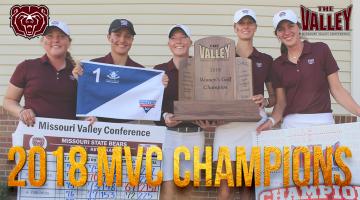 Bears win MVC women's golf championship