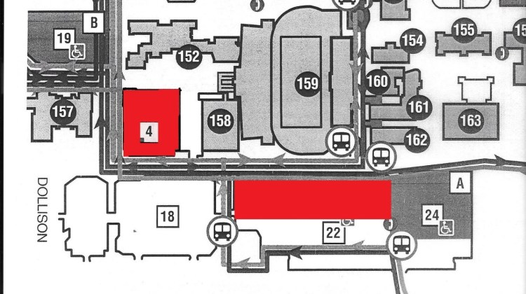 Parking Lot Closures – Football Home Opener