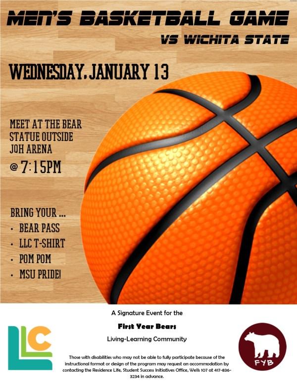 First-Year Bears: Men's Basketball Game