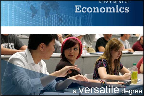 Department of Economics: a versatile degree
