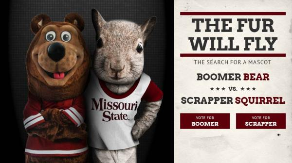 "Main feature of Boomer vs. Scrapper campaign promises that ""the fur will fly"""