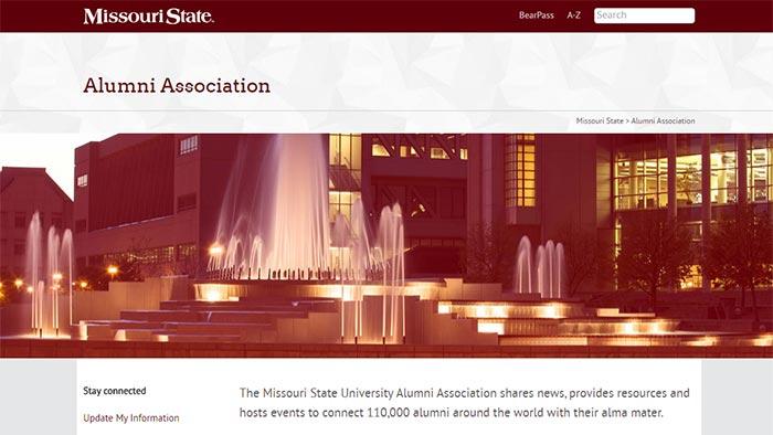 Missouri State seeks full-time new media specialist for alumni relations
