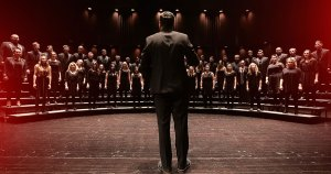 Chorale singing Facebook image