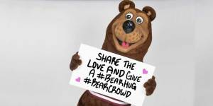 share the love and give a #BearHug #BearCrowd