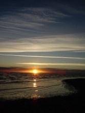 Sonnenuntergang - die Insel zeigt sich von ihrer schönsten Seite.
