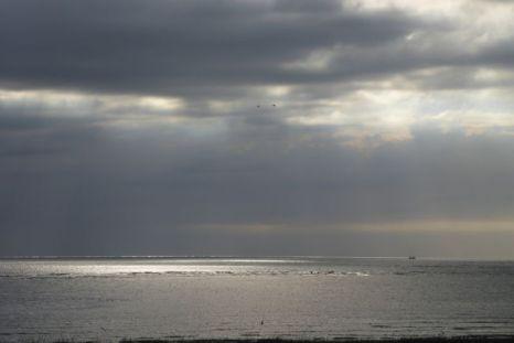 Lichtspiel auf dem Meer (Foto: Tore J. Mayland-Quellhorst).