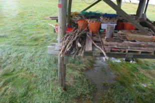 Zwischendeck ohne Wasser nach dem Sturm (Foto: Tore J. Mayland-Quellhorst).
