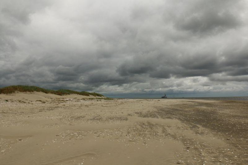 Jetzt spenden die Wolken wieder Schatten (Foto: Jonas Kotlarz)