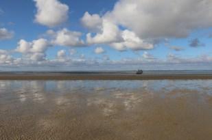 Die Luise, das Versorgungsboot (Foto: Jonas Kotlarz)
