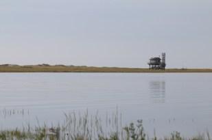 Hochwasser und Windstille (Foto: Jonas Kotlarz)