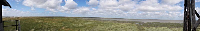 Panoramablick von der Hütte (Foto: A. de Walmont)