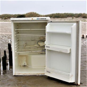 leerer Kühlschrank (Foto: A. de Walmont)