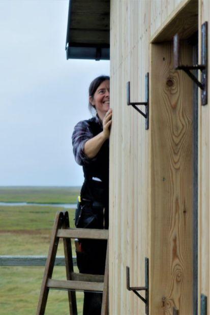 Maren bei der Arbeit (Foto: A. de Walmont)