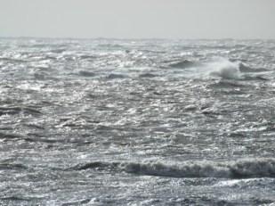 Wellen am Weststrand