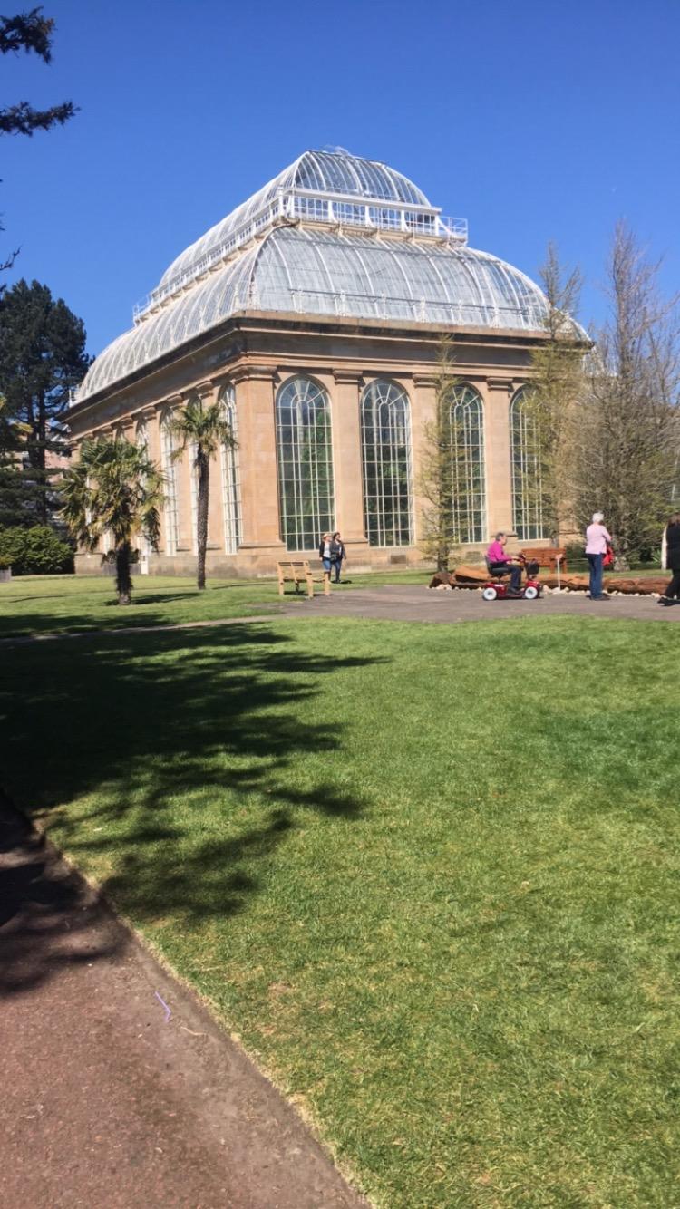 Greenhouse at Botanic Garden
