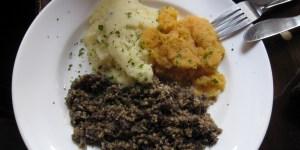 Traditional Haggis dish