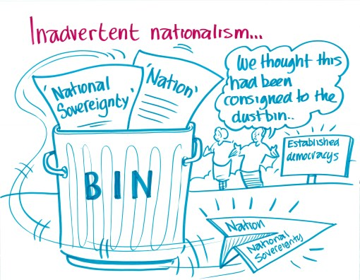 """Inadvertant nationalism..."""