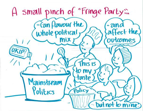 """A small pinch of 'fringe party'..."""