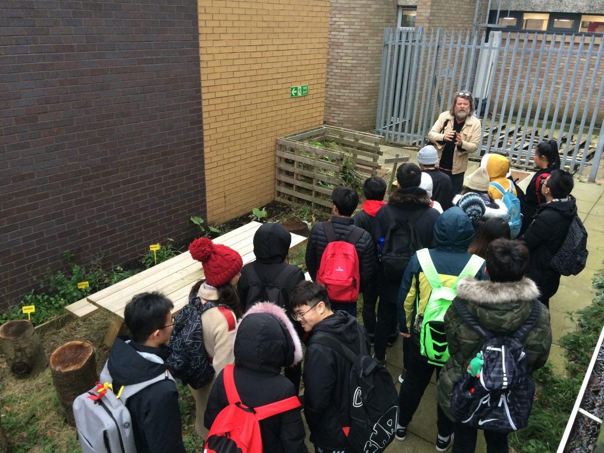 Visiting Chinese students