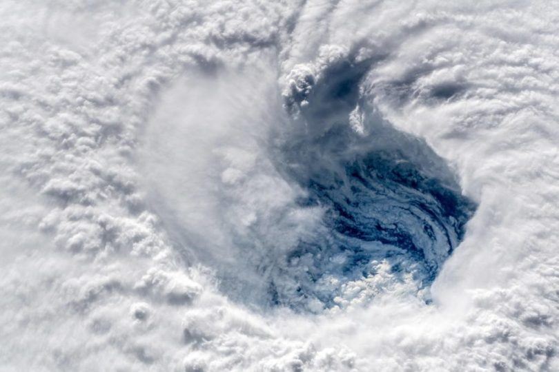 Imagem ISS do olho de Florença