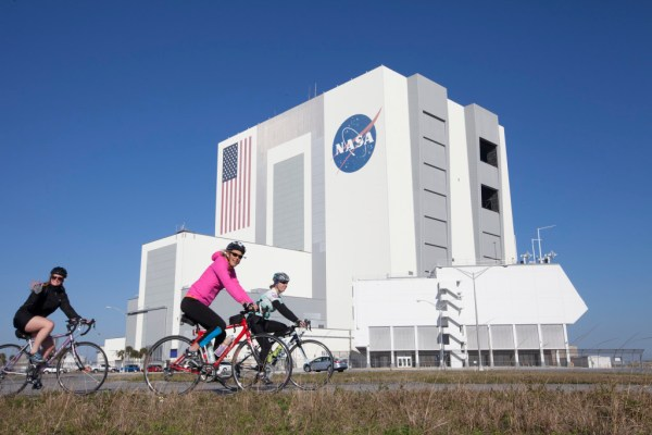 Cyclists Brave Chill for Annual Tour de KSC | Kennedy ...