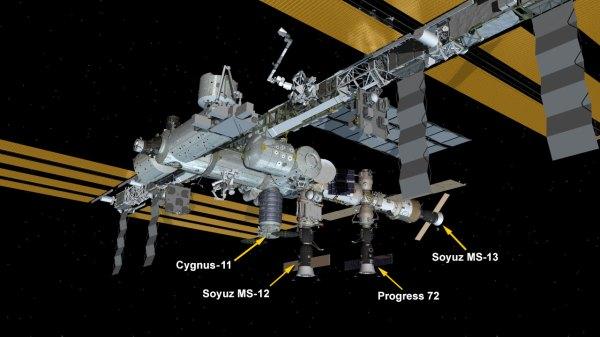 Soyuz Spaceship Docks, Station Crew Expanding to Six ...