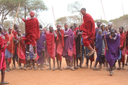 Maasai Warrior Celebration