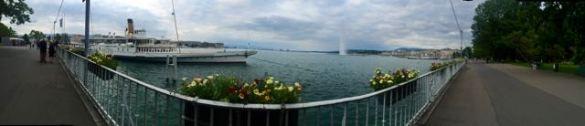 The Famous Geneva Fountain