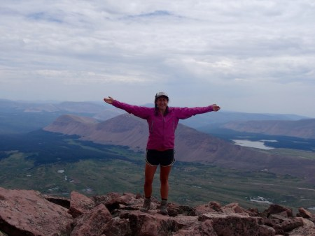 Celebrating the Fourth of July at 13,528 feet!