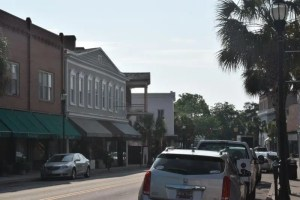 A mixed use environment in Historic Downtown Beaufort, SC.