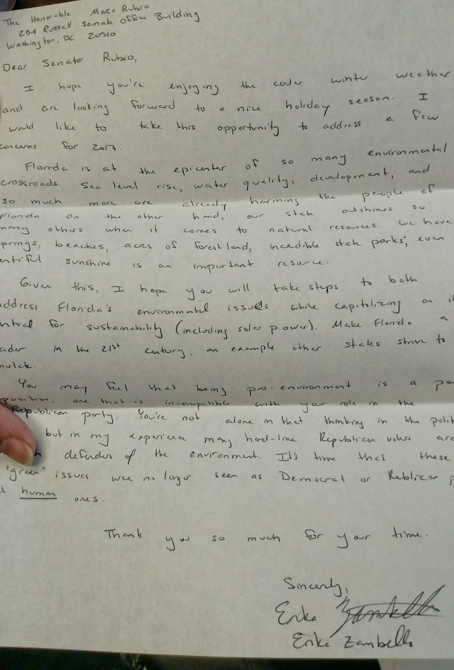 Why You Should Write a Handwritten Letter to Your Legislator