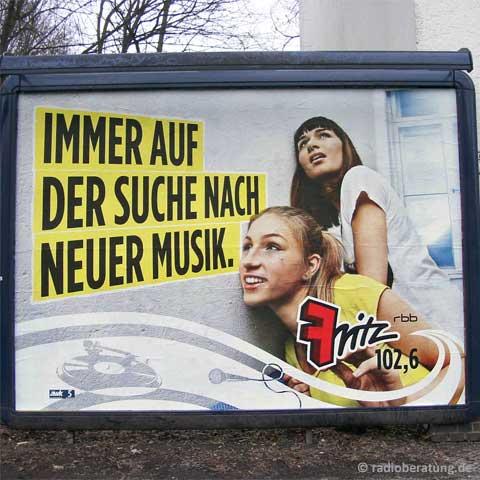 Neue Musik bei Radio Fritz