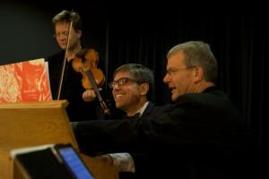 Internationale Kammermusiktage Homburg, Zweibrücken, Fasanerie, Tim Vogler. Moritz Eggert, Frithjof-Martin Grabner