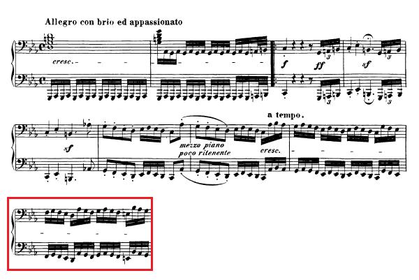 Beethoven-op.-111-1.-Satz-Takt-25