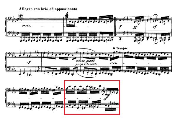 Beethoven-op.-111-1.-Satz-Takt-26