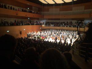 Der neue Konzertsaal in Bochum (Foto: Moritz Eggert)