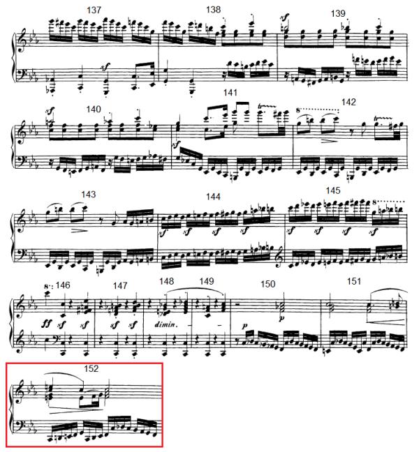 op. 111 – Eine Analyse in 335 Teilen – Takt 152