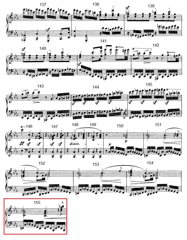 op. 111 – Eine Analyse in 335 Teilen – Takt 155