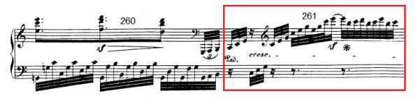 op. 111 – Eine Analyse in 335 Teilen – Takt 261
