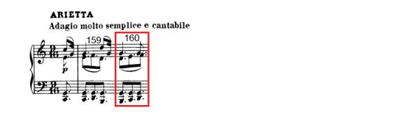 op. 111 – Eine Analyse in 335 Teilen – Takt 160
