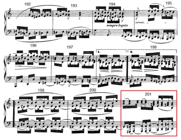 op. 111 – Eine Analyse in 335 Teilen – Takt 201