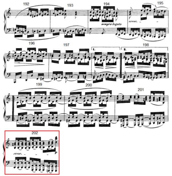 op. 111 – Eine Analyse in 335 Teilen – Takt 202