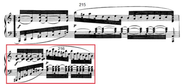 op. 111 – Eine Analyse in 335 Teilen – Takt 216