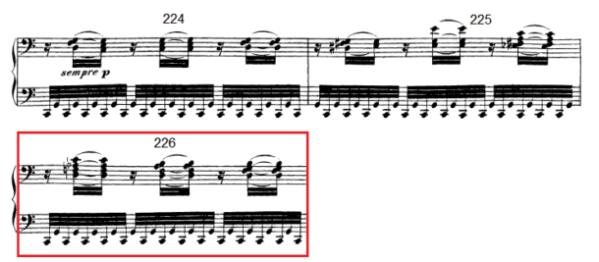 op. 111 – Eine Analyse in 335 Teilen – Takt 226