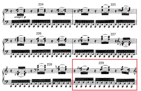 op. 111 – Eine Analyse in 335 Teilen – Takt 229
