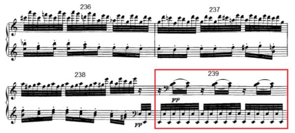 op. 111 – Eine Analyse in 335 Teilen – Takt 239