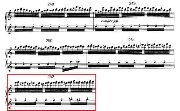 op. 111 – Eine Analyse in 335 Teilen – Takt 252