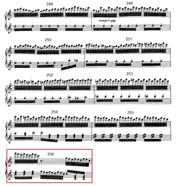op. 111 – Eine Analyse in 335 Teilen – Takt 256