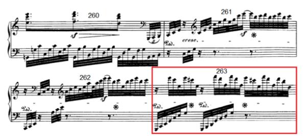 op. 111 – Eine Analyse in 335 Teilen – Takt 263