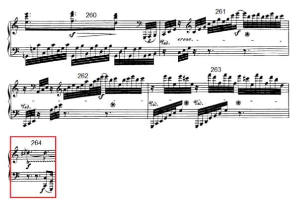 op. 111 – Eine Analyse in 335 Teilen – Takt 264